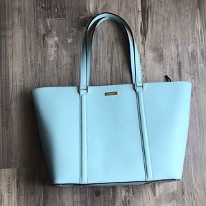 Kate Spade Large Newbury Tote Bag Tiffany Blue